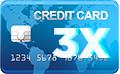 Paiement Carte Bancaire en 3X