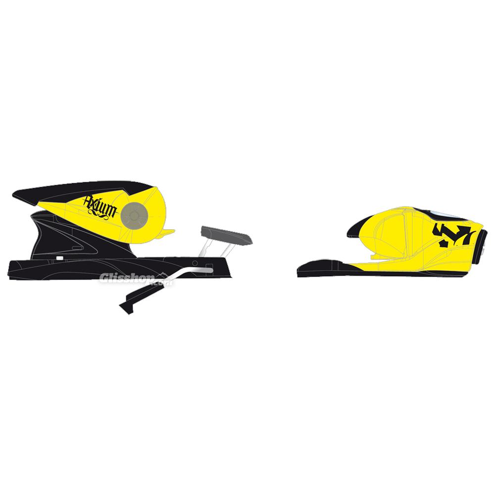 Rossignol Axium 110 XL Fluo Yellow