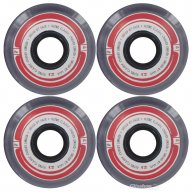 Globe Steam Roller Wheel Clear Black Red