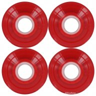 Globe Bantam Wheel Clear Red