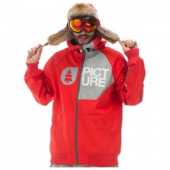 Picture Blouson Together 2 Red