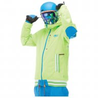 Picture Blouson Park Avenue Fluo Green