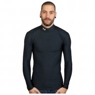 Under Armour Evo compression Ls Mock Black